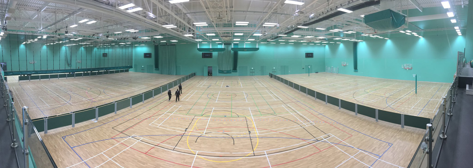 Largest sports hall project. Ever.