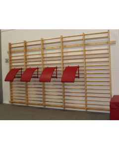 Stretching frame - wallbar mounted
