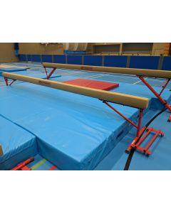 Training height ladies gymnastics beam
