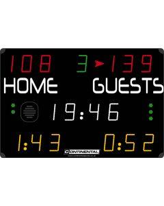 Multisports electronic scoreboard - COMPACT 7000/7100