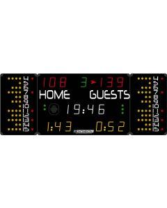 Multisports electronic scoreboard - COMPACT 7020/7120