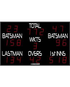 Outdoor cricket scoreboard