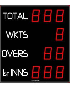 Outdoor cricket scoreboard - 10 digits