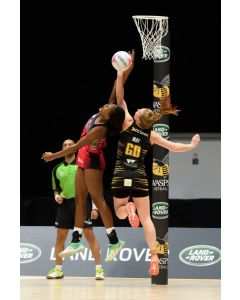 Socketed competition netball posts from Continental Sports Ltd