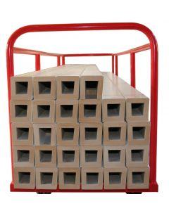 Hockey sideboard storage trolley
