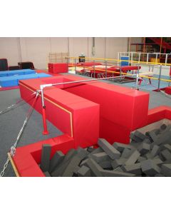 Open-ended U-shaped training pit