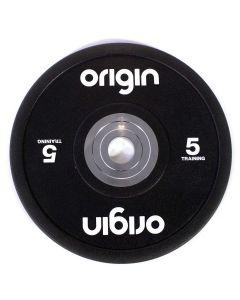 Coloured urethane bumper plates