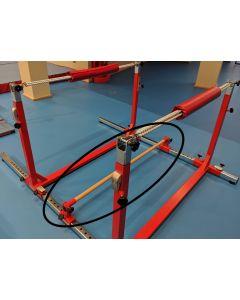 Junior Gym Component - Rebounder rail (with brackets)