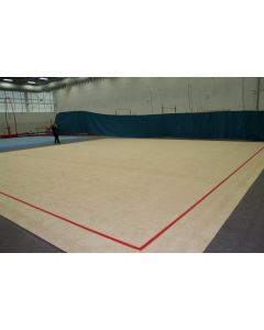 Rhythmic gymnastics floor area