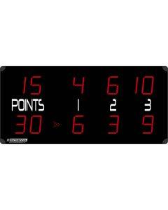 Tennis scoreboard