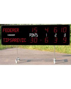 Scoreboard trolley