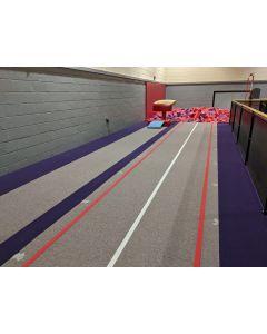 Fibre rod tumble track