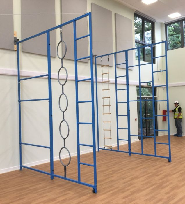 Two-in-one climbing frame from Continental Sports Ltd