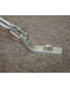 Gymnastics floor anchor