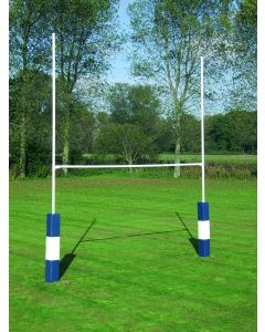 Heavy duty steel rugby posts