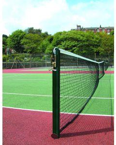 76mm Round Tennis Posts - Steel - Socketed