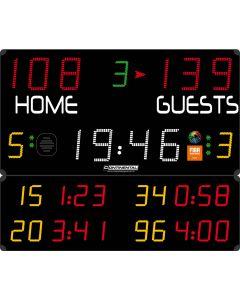 Multisports electronic scoreboard - PRO 3003/3103