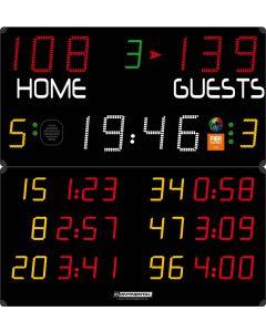Multisports electronic scoreboard - PRO 3004/3104