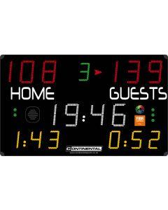 Multisports electronic scoreboard - PRO 7000/7100
