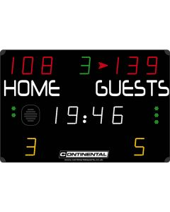 Multisports electronic scoreboard - COMPACT 3000/3100