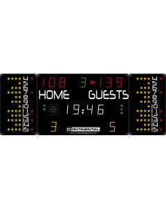 Multisports electronic scoreboard - COMPACT 3020/3120