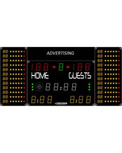 Multisports electronic scoreboard - COMPACT 7020-2/7120-2