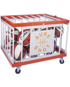 Multi-purpose ball storage cage
