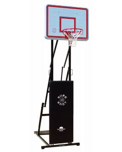 Tournament court basketball goal