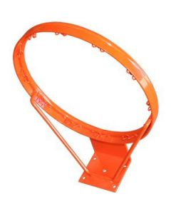 Basketball ring and net - fixed