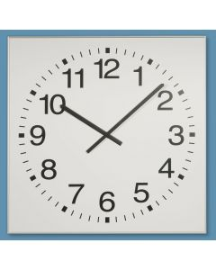 Sports hall clocks