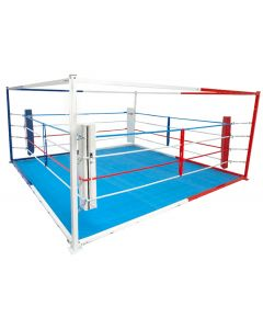 Floor boxing ring - freestanding