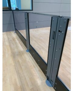 Clear polycarbonate rebound boards