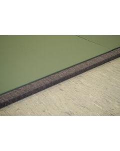 Judo mat frame system