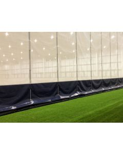 Sports hall vertical divider net