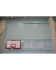 Basketball goals - Matchplay - Wall fixed - Sideways hinged