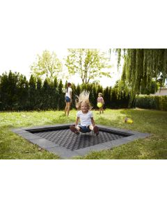 "Outdoor sunken trampoline - Kids Tramp ""Playground"""