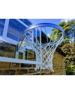 Wall mounted practice basketball goal