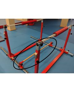 Junior Gym Component - Rebounder rail (with brackets)