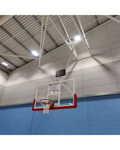 Basketball goals - Matchplay - Roof retractable type - Single boom