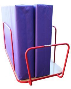 "Safety mat / ""crash"" mat trolley"