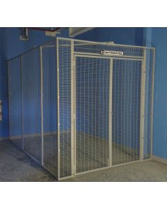 Fixed mesh storage cage