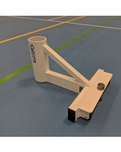 T-base above ground volleyball post socket