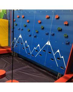 Traverse panels for adventure parks