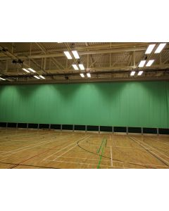 Sports hall curtains