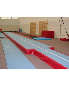 Fibre rod tumble track