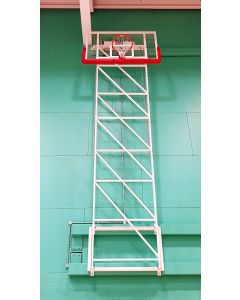 Basketball goals - Matchplay - wall fixed, upward folding