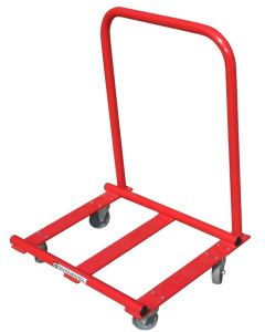 Vaulting table transporter trolley