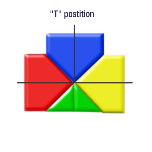 3 Gate Mat System - T Position