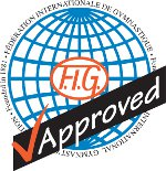 FIG approved gymnastics apparatus