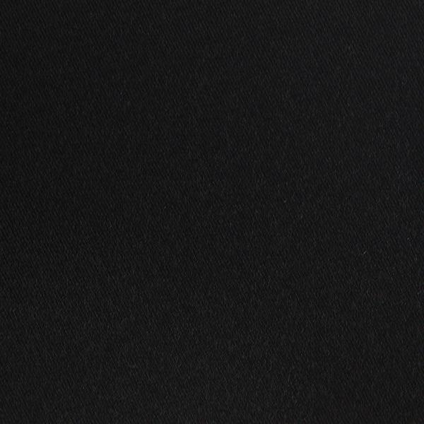 Blackout curtain fabric - black